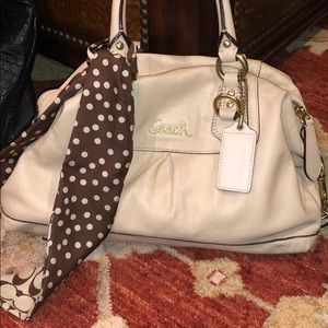 Comes with scarf COACH BAG